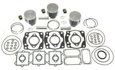 1997 1998 Arctic Cat Powder Extreme 600 (3) Pistons Bearings Top End Gasket Kit