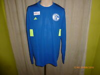 FC Schalke 04 Original Adidas Spieler Training Sweatshirt 2013/14 Gr.L