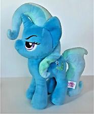 "New ListingMy Little Pony Trixie Lulamoon Unicorn Plush 12"" Blue ~ Wand Symbol Rare Mlp"