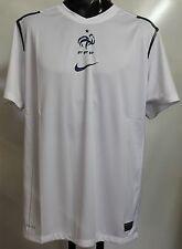France 2012/13 Blanc pre match chemise par nike taille M neuf avec étiquettes