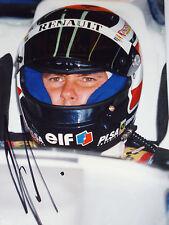 Gerhard Berger SIGNED Benetton Helmet Portrait 1996