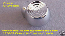 1955 Chevrolet 56 57 Chevy Seat adjustment KNOB NEW