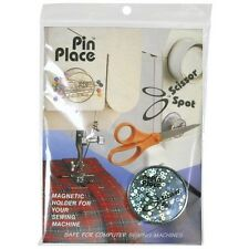 Blue Feather Scissor Spot/Pin Place Magnetic Holder - 087372