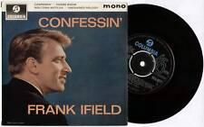 "FRANK IFIELD ~ CONFESSIN' ~ 1963 UK MONO 7"" EP SINGLE + P/S ~ COLUMBIA SEG 8277"