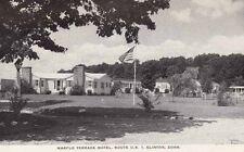 Vintage POSTCARD c1950s Marflo Terrace Motel CLINTON, CT CONN. Unused
