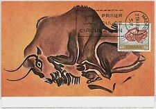 MAXIMUM CARD - POSTAL HISTORY - Spain: Archaelogy, Hunting, Art, 1967