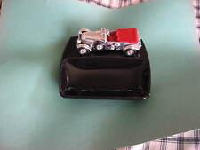 Lesney Matchbox ashtray Bentley Racer chrome  excellent