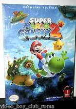 SUPER MARIO GALAXY 2 GUIDA STRATEGICA UFFICIALE ITA NINTENDO Wii NUOVA FR1 31461