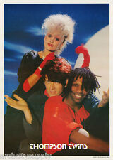 POSTER - MUSIC: THOMPSON TWINS - GROUP   - FREE SHIPPING - #NM50 RAP7 A