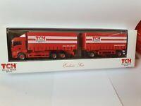 herpa MAN TGA TCH Truck & Trailer Rental  WECHSELBRÜCKEN HZG- BDF-Exclusiv Serie