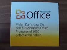 Microsoft Office 2010 Professional / Vollversion / deutsch / PKC / Vollversion
