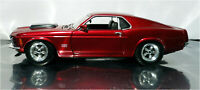 Motor Max 1/24 Scale Loose 1970 Ford Mustang Boss 429 Red die-cast Model 73303