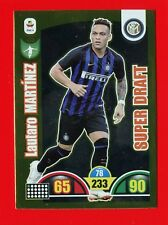 CALCIATORI 2018-2019 19-Adrenalyn Panini Card DRAFT 412 -LAUTARO MARTINEZ- INTER