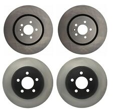 NEW Front and Rear Disc Brake Rotors Centric For Chrysler 300 Dodge Challenger