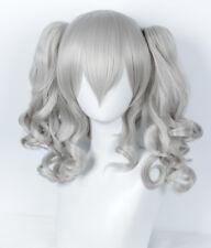 Kantai Collection Kashima Wig Halloween Costume Cosplay Sliver Lolita Wig