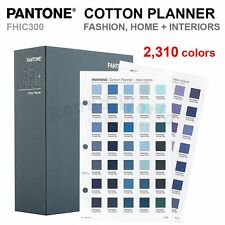 Pantone FHIC300 FASHION, HOME + INTERIORS Cotton Planner 2,310 Colors - NEW!