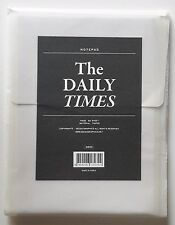 The Daily Times Daily Scheduler Day Planner - Desktop Handheld Note Pad