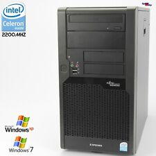 Pc Computer Fujitsu Esprimo P5731 E85+D3011 2200mhz 250 Gb Parallel Rs 232 DVD