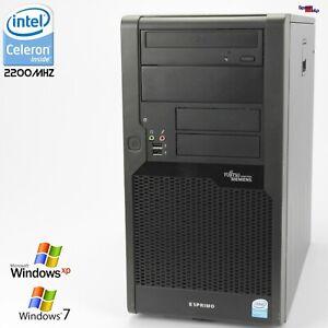 PC Computer Fujitsu Esprimo P5731 E85+D3011 2200MHZ 250GB Parallel RS-232 DVD