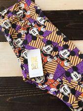 New Lularoe Disney One Size Os Leggings Mickey Mouse Purple Yellow Stripe Happy