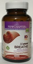 New Chapter LifeShield Breathe Activated Mushrooms 60 capsules 6/2020 NIB