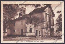 VERBANIA GHIFFA 49 SANTUARIO SS. TRINITÀ Cartolina viaggiata (1956 ?)