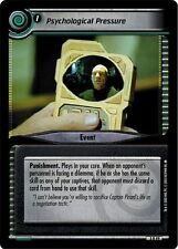 Star Trek CCG 2E Call To Arms Psychological Pressure 3R49