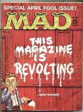 Mad #54-1960 vg+ Al Jaffee Wally Wood Kelly Freas
