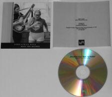 Johnathan Rice - Meet the Mother  U.S.  promo cd