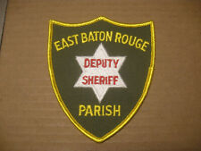 EAST BATON ROUGE PARISH LOUISIANA SHERIFF POLICE PATCH