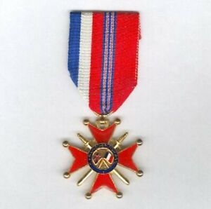 FRANCE. Franco-British Cross of Honour, knight, since 1944 version