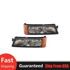 TYC Turn Signal/Parking Light Lamp 2X For 03-07 Chevrolet Silverado 1500 [HS19]