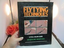 1981 book. Fly Tying Techniques. Full Color Guide. Jacqueline Wakeford