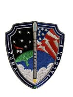 ZUMA FALCON 9 LAUNCH USA SPACEX Collectible - NASA SPACE PATCH 3.5""