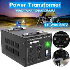 500-5000W Heavy Duty Voltage Regulator Converter Power Transformer 220V auf 110V