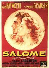 SALOME: THE DANCE OF THE SEVEN VEILS Movie POSTER 11x17 Italian