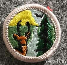 BSA Conservation of Natural Resources Merit Badge Type H Discontinued Boy Scout