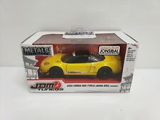 Jada Toys JDM Tuners 2002 Honda NSX Type-R Japan Spec Widebody Yellow 1/32