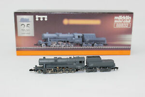 Z Scale Marklin 88832 DRG BR 52 Gray 2-10-0 Steam Locomotive & Tender