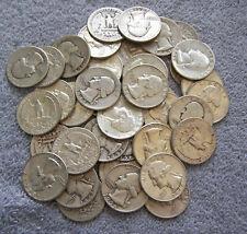 1 Roll Washington Silver Quarters