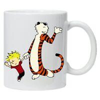 Personalised Mug Calvin and Hobbes Comic Printed Coffee Tea Drinks Cup Gift