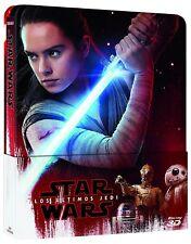 Star Wars los Últimos Jedi (3D Steelbook) Blu-ray