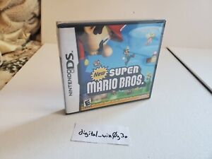 2006 Nintendo DS New Super Mario Bros FACTORY SEALED! Never Used.