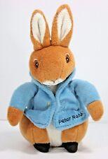 "Beatrix Potter Kids Preferred Toy PETER RABBIT Plush Bunny Stuffed 7.5"""
