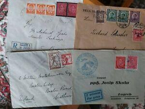 Croatia yugoslavia ,shs 4 lovly letters