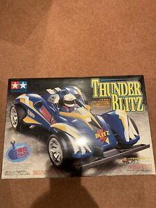 Tamiya Thunder Blitz (4WD) Unbuilt Kit with hop ups 57604 rare rc boys 1998 look