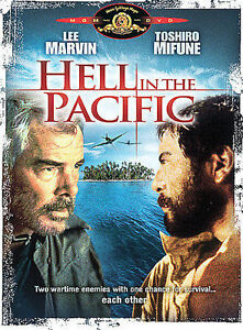 Hell in the Pacific (DVD, 2004) Brand New, Sealed, RARE and OOP