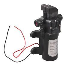 DC 12V 60W Mini High Pressure Micro Diaphragm Water Pump Automatic Switch 5L/min