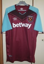 West Ham 2017 - 2018 United Home football shirt Jersey Umbro size XL