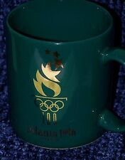 1996 SUMMER OLYMPICS 100 ATLANTA GEORGIA GREEN COFFEE TEA MUG CUP DAKIN
